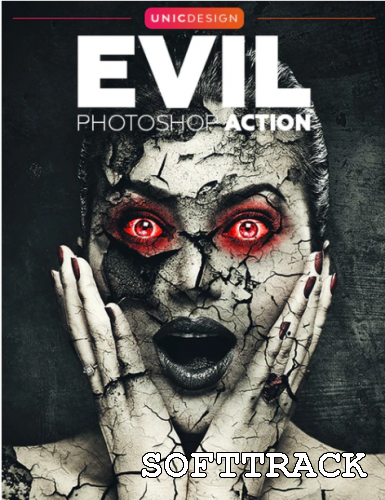Evil Photoshop Action