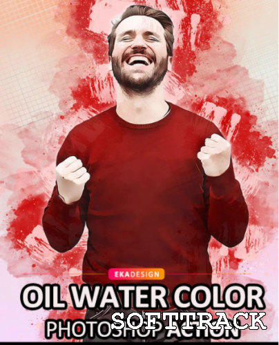Oil Water Color Photoshop Action